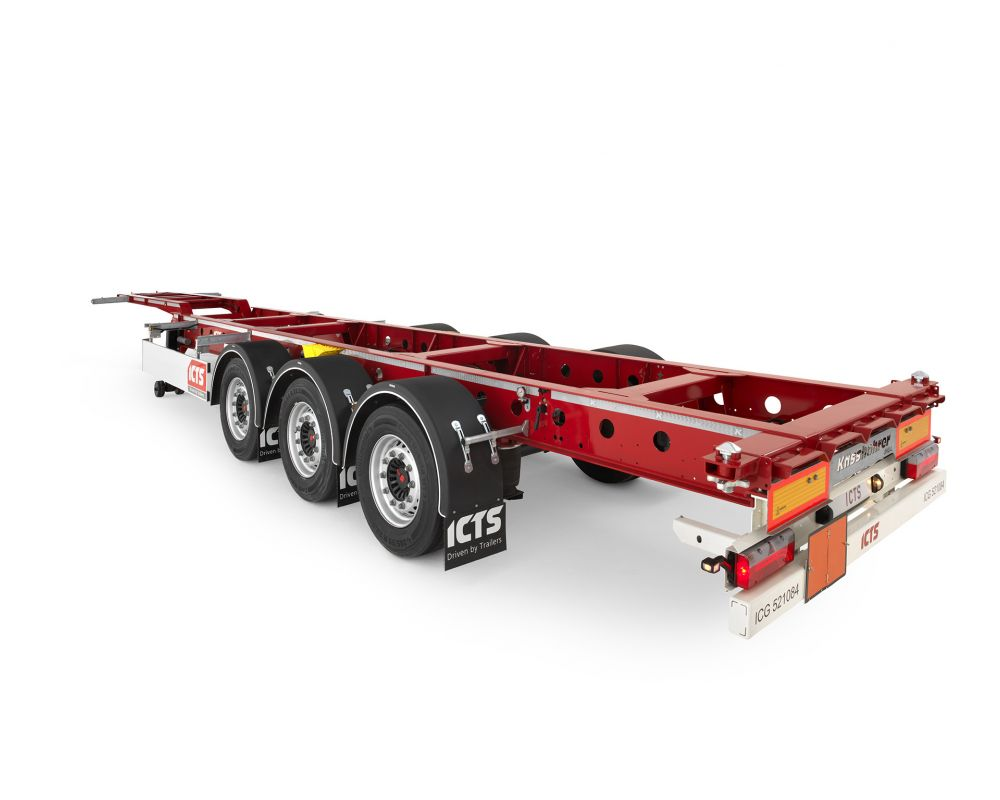 Fixed container chassis